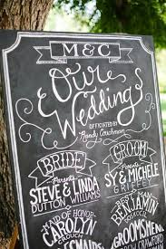 chalkboard wedding program template 22 best program boards images on wedding bridal
