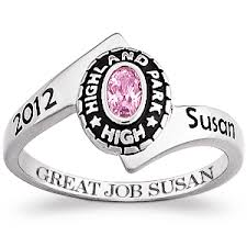 highschool class ring class rings personalized college high school graduation rings
