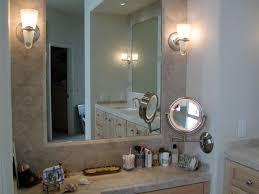 Wall Mounted Bathroom Mirrors Wall Mounted Lighted Magnifying Bathroom Mirror Vanity Inside