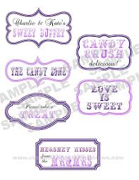 Candy Labels For Candy Buffet by 151 Best Candy Buffet Images On Pinterest Marriage Sweet Tables