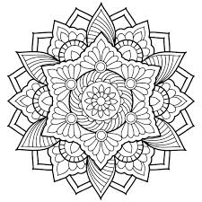 mandala coloring pages printable mandala coloring pages mediafoxstudio