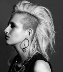 photo mohawk hairstyle for women short faux mohawk hair style for