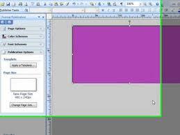 cara membuat x banner dengan publisher how to create a banner in microsoft publisher for your library