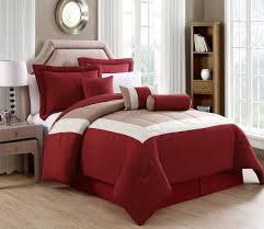 7 rosslyn black taupe comforter set home