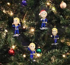 fallout 4 vault boy ornaments thinkgeek