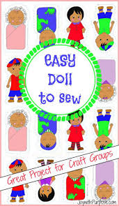 easy doll to sew great beginner sewing project operation