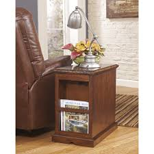 power chairside end table signature design by ashley laflorn ornate power chair side end table