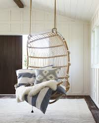 Rattan Swinging Chair Double Hanging Rattan Chair Chairs Serena And Lily