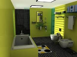 bathroom design grey and yellow shower curtain bathroom