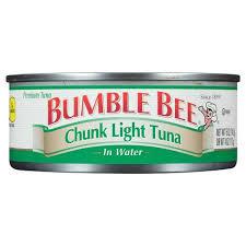 bumble bee chunk light tuna bumble bee chunk light tuna in water 5 oz target