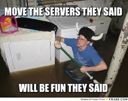 Laundry Room Viking Meme - flooded basement meme move the servers they said laundry room