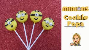 Minion Cookie Pops Oreo Cookie Pops Youtube