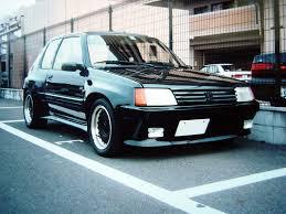 peugeot 205 gti nostalgic japanese 205 gti r32taka