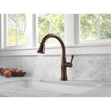 delta faucet 9197 rb dst cassidy venetian bronze pullout spray