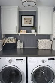 clean fresh laundry room ideas small spaces washer looks stacked