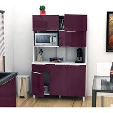 meuble de cuisine aubergine aucune lova buffet cuisine 120 cm aubergine haute brillance 264026
