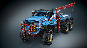 lego technic 2017 42070 6x6 all terrain tow truck products lego technic lego