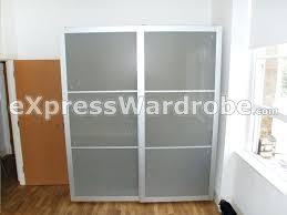 Sliding Mirror Closet Doors Ikea by Wardrobes Sliding Glass Wardrobe Doors Melbourne Sliding Mirror