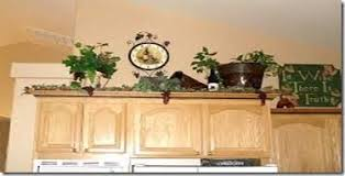 decorating ideas for above kitchen cabinets dazzling ideas greenery above kitchen cabinets cabinet design