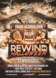 a rewind halloween district nightclub