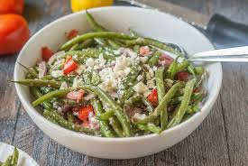 greek green bean salad 15 minutes my life cookbook low carb