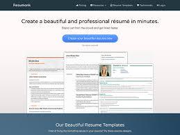 fifteen free websites to create an inspiring resume resumonk coupons top deal 45 off goodshop