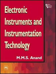 electronic instruments and instrumentation technology 1st edition