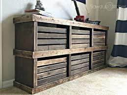 diy dresser pottery barn inspired crate dresser sawdust 2 stitches