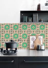 Wallpaper Designs For Kitchen Kitchen Wallpaper Splashback