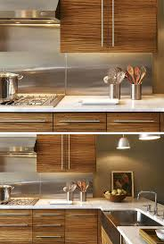 stainless steel tile backsplash ideas kitchen stainless steel