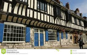 tudor buildings city of york england stock video video 44813911