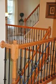 Cost To Decorate Hall Stairs And Landing Cost To Paint Stairway Estimates And Prices At Fixr