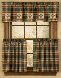 Cabin Style Curtains Burlap Pine Table Runner 13 X 54 Available Countryporch