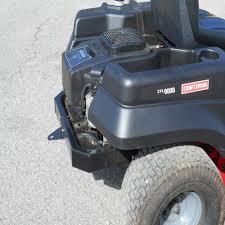 amazon com universal zero turn mower trailer tow hitch 3