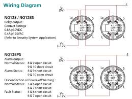 nq12 horing lih resettable type of smoke detector fire alarm view