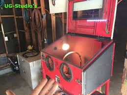 sand blasting cabinet if youu0027re serious about abrasive cabinet