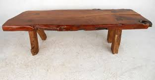 wood slab tables for sale rustic wood slab coffee table for sale at 1stdibs pertaining to