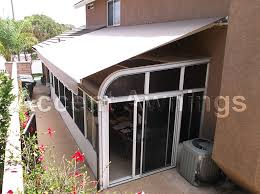 Motorized Awning Decorative And Spear Stationary Awnings
