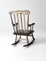 Western Rocking Chair Vintage Child Rocking Chair U2013 86 Vintage