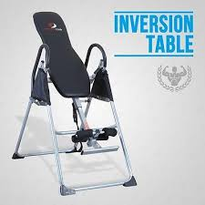 back relief inversion table fitness club inversion table deluxe foldable fitness exercise back