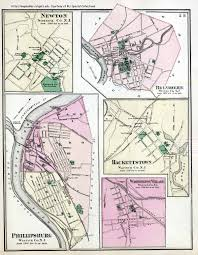 County Map Of Washington State by New Jersey Historical Maps