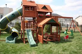 Backyard Forts For Kids Kids Playsets For Backyard Big Backyard Lexington Wood Gym Set