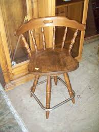 Wood Swivel Bar Stool Deal Of The Day 4 2 17 Wooden Swivel Barstool 12886 Was 55