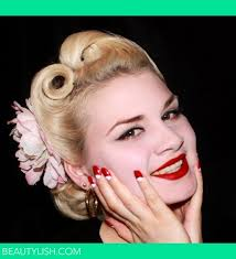 hair and makeup vintage vintage 1940 s hair makeup and nails iva s s photo beautylish