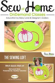 pincushion wall art video class the sewing loft