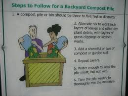 six steps to make a backyard compost attempting zero waste