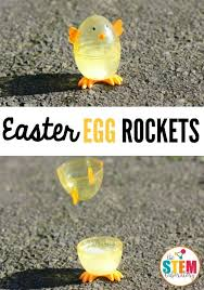 easter egg rockets the stem laboratory