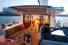 cockpit on the moody 62 deck salon very inviting www jk3yachts