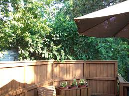 planters fence planter box unfinished wood picket mounted boxes