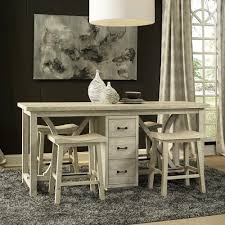 fairmont dining room sets wilmington wood rectangular gathering table in sandal humble abode
